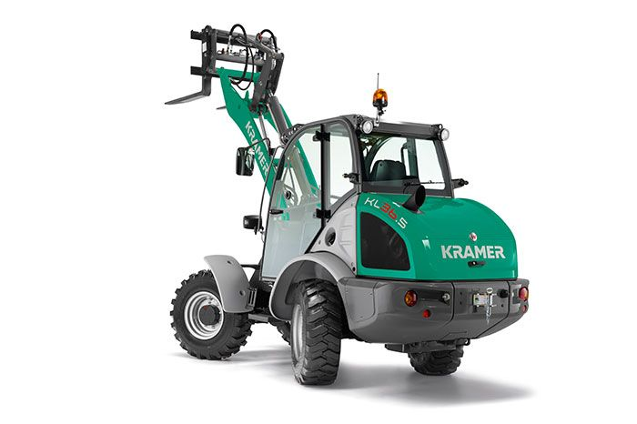 Kramer wheel loader KL36.5 cut-out