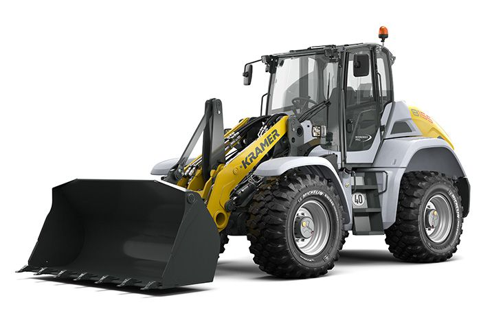 Kramer wheel loader 8155 with bucket