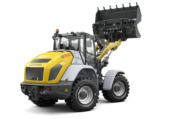 Kramer wheel loader 8155 - rear