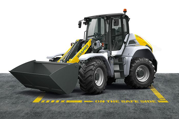 Kramer wheel loader 8155 - front