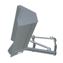 Side swing bucket