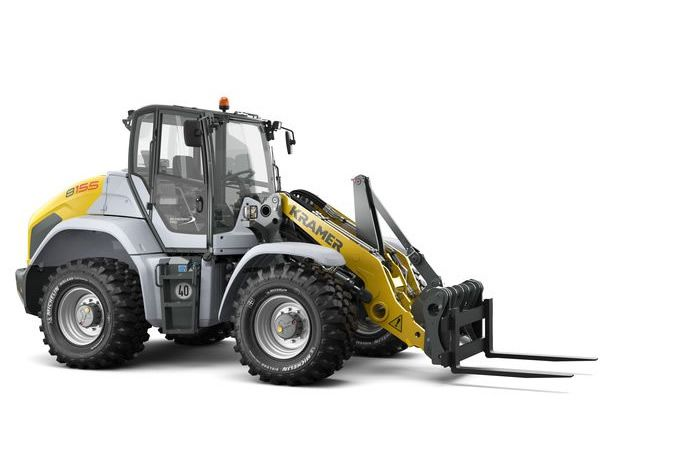 Kramer wheel loader 8155 with pallet fork