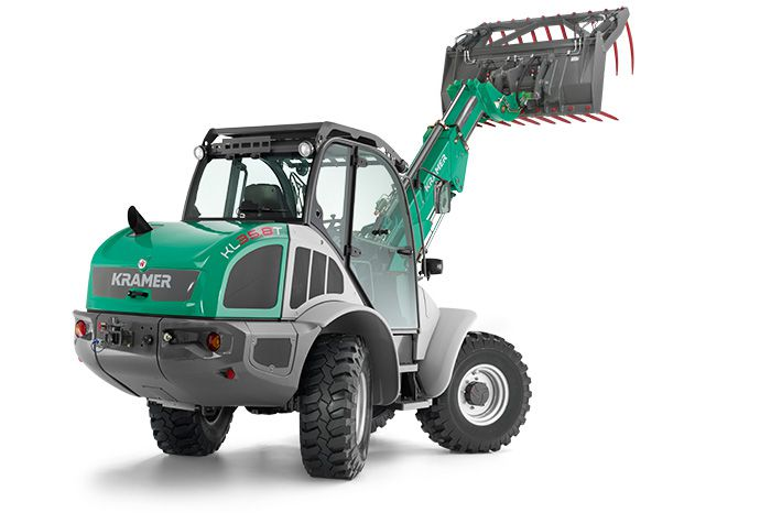 Tele wheeled loader KL35.8T in the studio