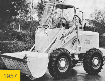The first Kramer wheel loader of the type KS510