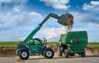 Telehandler for agriculture
